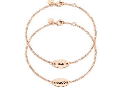 """Wende-Armband """"Good/Bad"""""""