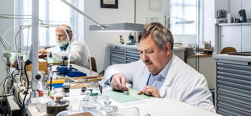 Juwelier Weinmayr Schmuckpflege Werkstatt