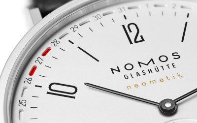 Tangente: Der Inbegriff einer Uhr aus dem Hause Nomos Glashütte