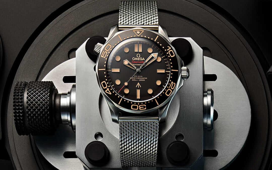 Das neueste Gadget von 007 ist überaus leicht: Die Omega Seamaster Diver 300M 007 Edition